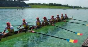 România a cucerit încă două medalii de aur la Camionatul Mondial de canotaj pentru tineret