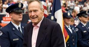 Fostul președinte George H. W. Bush a fost externat după fractura cervicală
