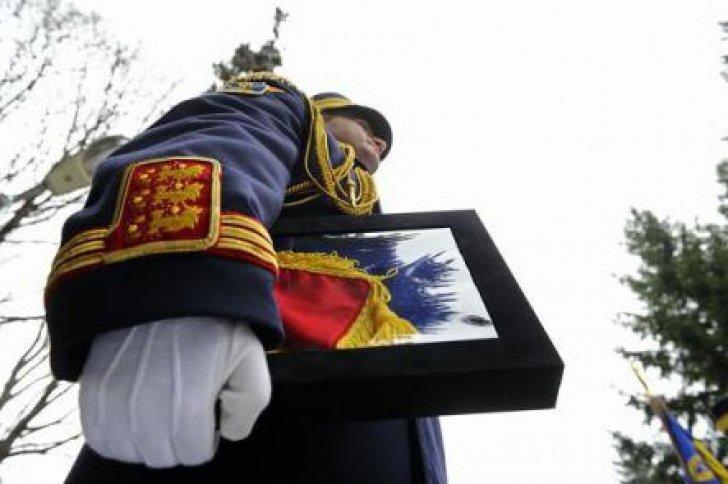 Poliţistul erou, decorat de Iohannis. Gheorghe Ionescu a murit după ce a fost lovit de şoferul turc / Foto: Agerpres