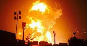 China: Explozie uriaşă în oraşul Tianjin, din nordul ţării. Şapte morţi, sute de răniţi