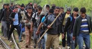 Criza imigranților ia amploare în Macedonia: 2.000 de refugiați, blocați la frontieră
