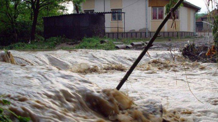 Atenţionare de inundaţii emisă de INHGA