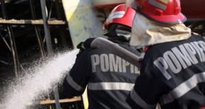 Incendiu provocat la o firmă din Satu Mare. Cine e autorul