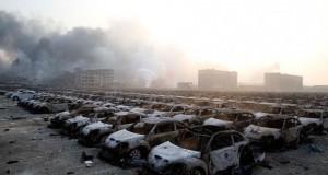 Galerie foto. Imagini catastrofale, ca după bombardament, după explozia din Tianjin, China