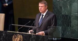Mesajul lui Iohannis după discursul susținut în fața ONU