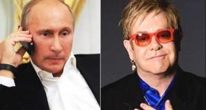 """Farsa anului: """"Alo, Putin la telefon!"""" Cine l-a sunat de fapt pe Elton John"""