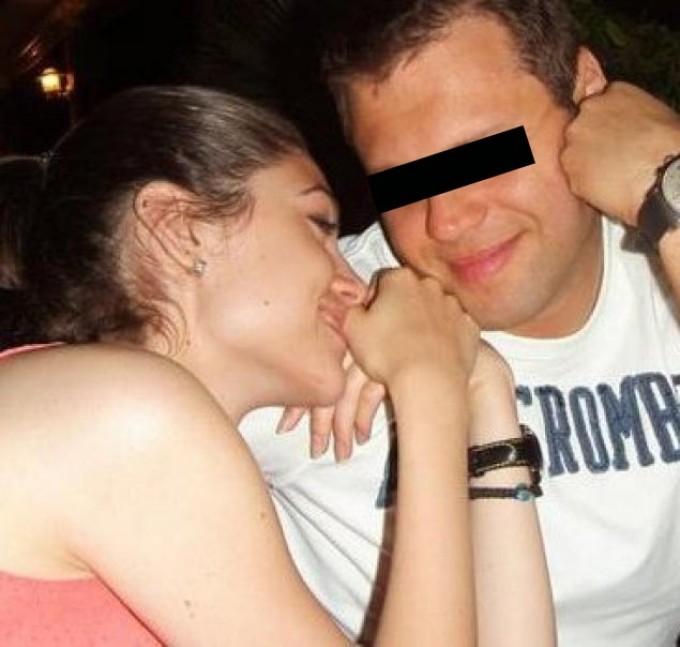 Cristiana si Mihai s-au lasat fotografiati in ipostaze tandre