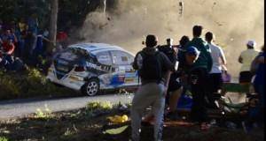 Tragedie în Spania: 6 morți și 10 răniți după ce o mașină de raliu a intrat în public