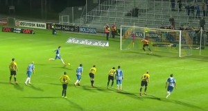 Video viral: ce a făcut un fotbalist danez după ce a marcat un gol