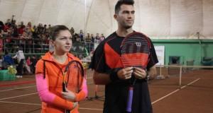 Cum a reacţionat Horia Tecău după ce Simona Halep l-a lăsat baltă în proba de dublu mixt