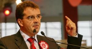 Marian Oprişan a transmis salutul lui Miron Mitrea, din închisoare, către delegaţii PSD