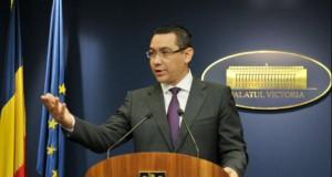 Declaraţie de ultimă ora a premierului Ponta. Ce spune de refugiaţi şi închiderea graniţelor