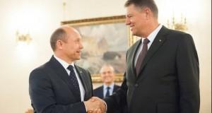 Ce i-a transmis Klaus Iohannis premierului Republicii Moldova, după întâlnirea de la Cotroceni