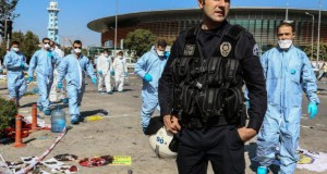 Imagini de coșmar de la mega-atentatul din Turcia surprinse de o cameră de securitate