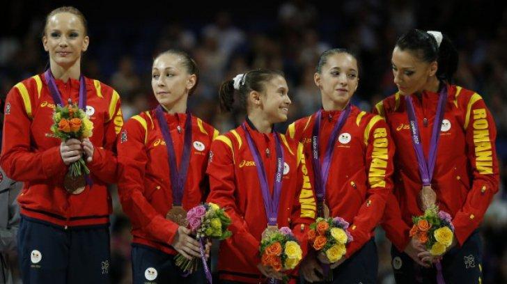 Echipa de gimnastică fete a României