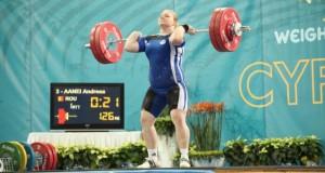 Trei medalii de aur pentru România, la Campionatele Europene de haltere pentru juniori și tineret