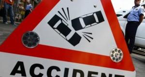 Accident grav pe DN2: 6 autovehicule, implicate! Traficul este blocat
