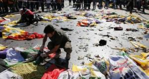 Dublul atentat de la Ankara, comis de doi bărbaţi-kamikaze. Bilanţul a ajuns la 97 de morţi
