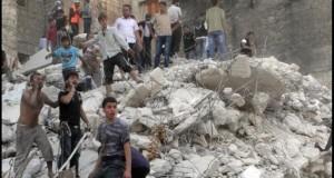 Siria: 40 de oameni au murit într-un atac cu rachete atribuit forțelor regimului