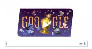 Google sărbătorește Halloween-ul printr-ul doodle animat