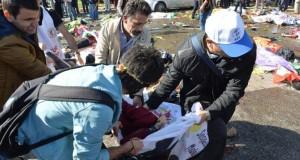 BREAKING NEWS: Masacru în capitala Turciei. 86 de morţi și 200 de răniți după un dublu atentat cu bombă