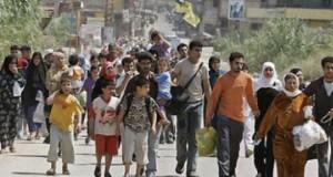 TIR plin cu refugiaţi, la Vama Giurgiu. Printre ei se află şi şapte copii