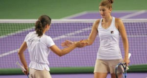 Irina Begu și Monica Niculescu, în finala de dublu a turneului de la Wuhan