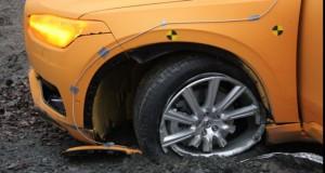 Super crash test! Noul Volvo XC90 aterizează precum un elicopter