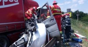 Accident mortal pe DN7, trafic blocat total între Râmnicu Vâlcea și Sibiu