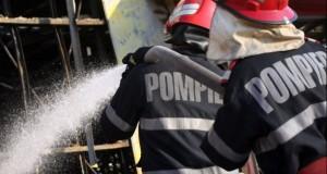 Incendiu în centrul Brașovului. Două victime, între care o femeie însărcinată