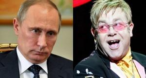 Elton John și Vladimir Putin, discuții despre drepturile persoanelor gay.Când va avea loc întâlnirea