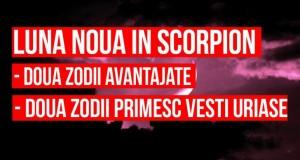 Lună nouă în Scorpion – doua zodii avantajate de fenomen și 2 nativi care primesc vești uriașe