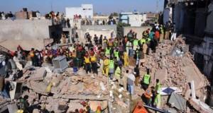 O uzină s-a prăbușit peste sute de oameni, în Pakistan. Bilanțul a ajuns la 18 morți și 51 de răniți