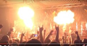 Imagini șocante. Cum decurgea un show cu flăcări, anul trecut, în club Colectiv