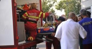 Doar 25 de paturi pentru arși, la 130 de răniți. Observația unui medic britanic la București