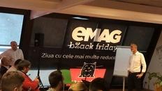 Black Friday 2016 la eMag: Peste 1 milion de produse cu reduceri totale de peste 35 de milioane de euro