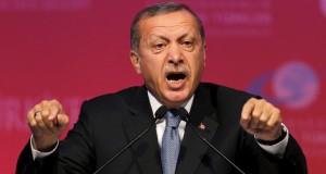 """Erdogan o acuză pe Merkel că a recurs la """"practici naziste"""""""