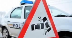 Accident grav pe DN6: un bărbat a murit, soţia lui a fost grav rănită