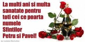 FELICITĂRI Petru şi Pavel 2017. Imagini frumoase cu text pentru PETRU şi PAVEL: La mulți ani!