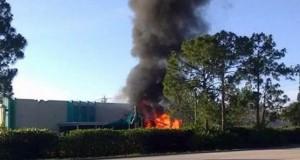 Un avion s-a prăbușit pe o grădiniță. Incident soldat cu o victimă