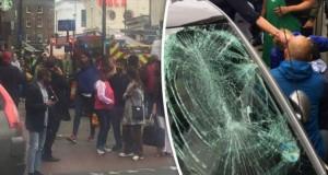 Alertă la Londra după ce o mașină a intrat în mulțime