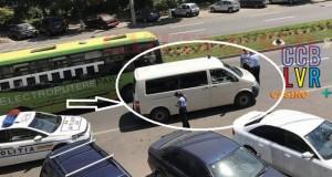 Poliţia Rutieră a tras pe dreapta o altă maşină a poliţiei. Șoferul, lăsat FĂRĂ PERMIS