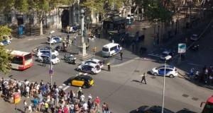 Primele imagini dramatice cu atacul de la Barcelona