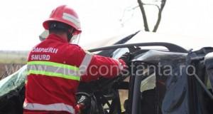 Accident rutier mortal pe DN6: o persoană a decedat