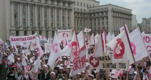 Noi proteste în Capitală anunţate pentru mâine