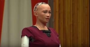Sophia, primul robot cu cetățenie, vine în România(VIDEO)