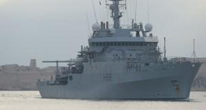 Alertă în Marea Neagră. Navă britanică, la un pas de coliziune cu un vas rus. Răspunsul Moscovei