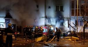 BREAKING NEWS: Explozie puternică la un restaurant din Capitală( Galerie foto)