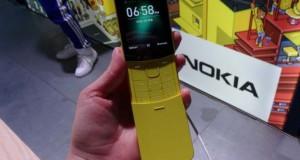 NOKIA 8110. Telefonul banană, abia lansat! Cum arată și cât costă NOKIA 8110 4G