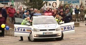 Ziua Poliţiei Române  sărbătorită  în Maramureș -Spectacol inedit oferit de polițiștii maramureșeni
